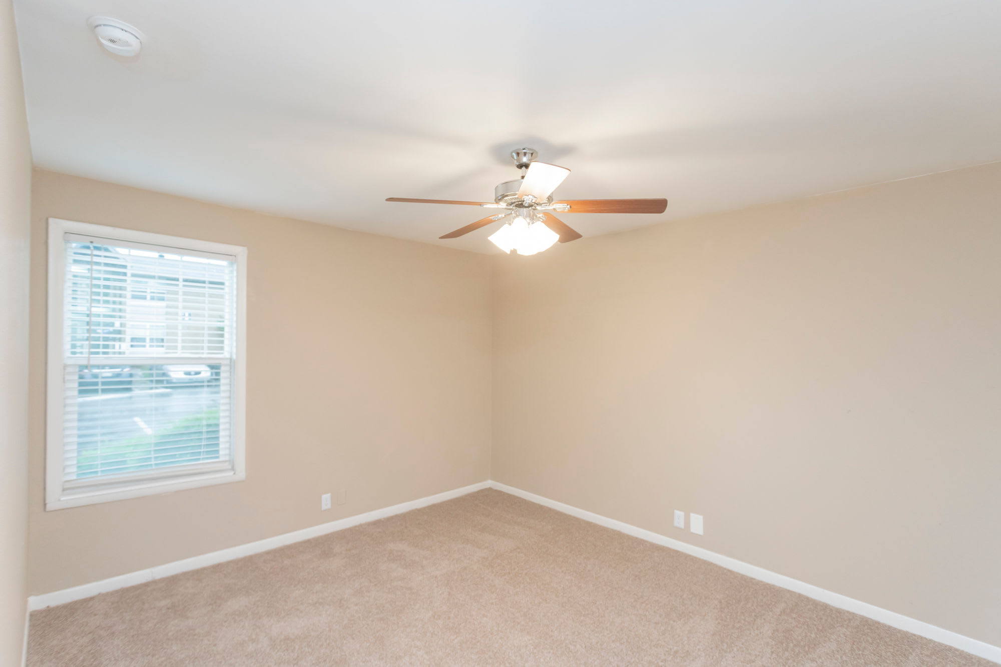 Bedroom with a ceiling fan at Maple Creek in Nashville, Tennessee