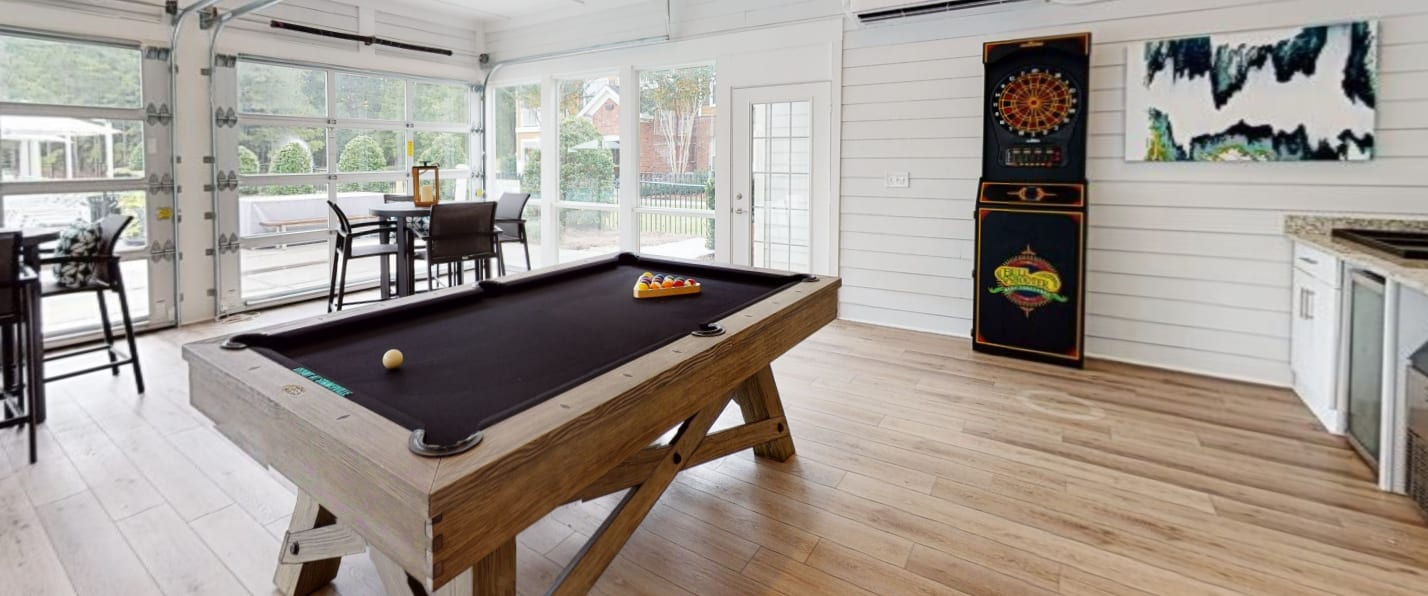 View virtual tour of the resident lounge at Bryant at Summerville in Summerville, South Carolina