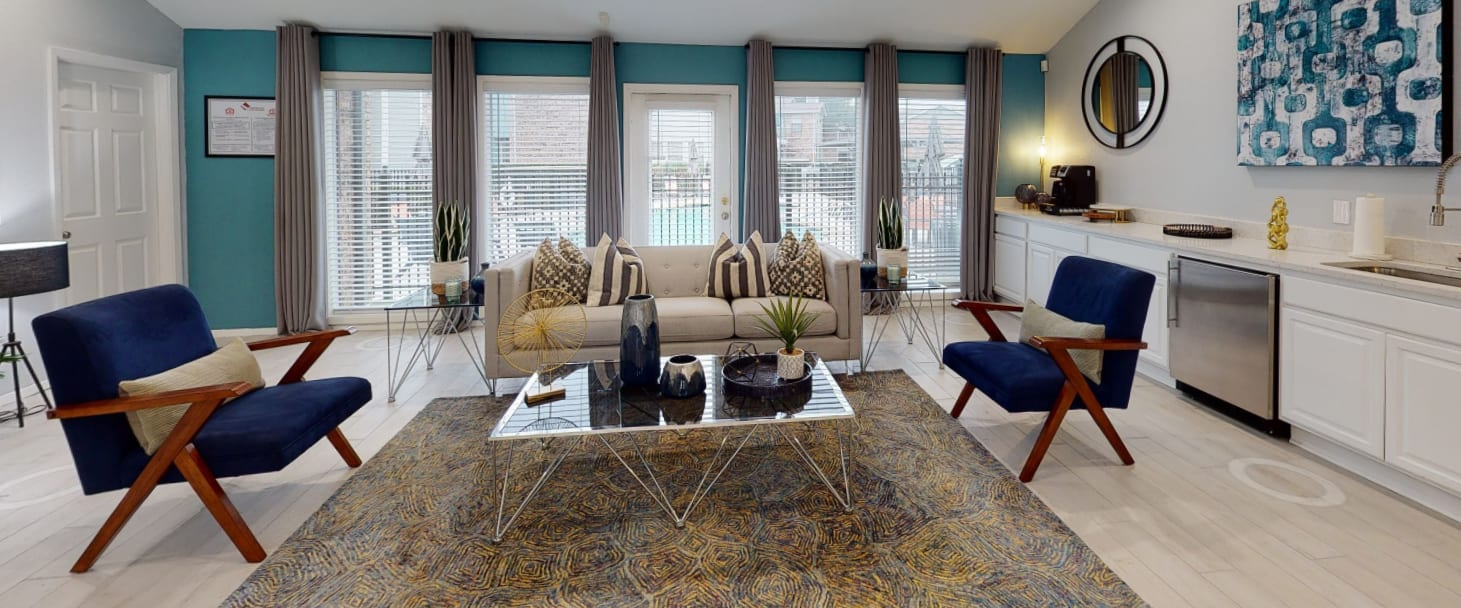 View virtual tour of resident services at Canopy on Central in Bedford, Texas