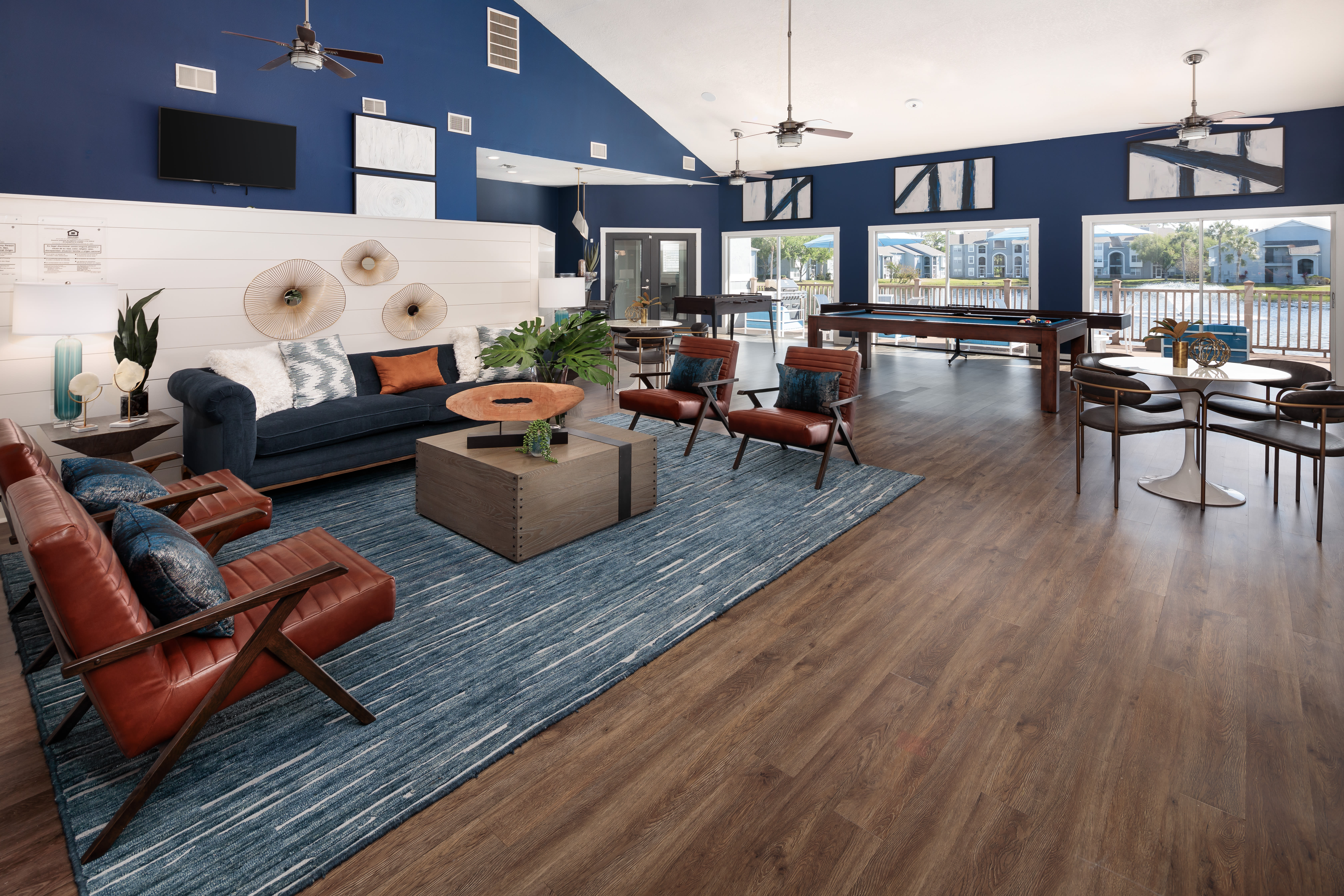 View virtual tour of the clubhouse at Onyx Winter Park in Casselberry, Florida