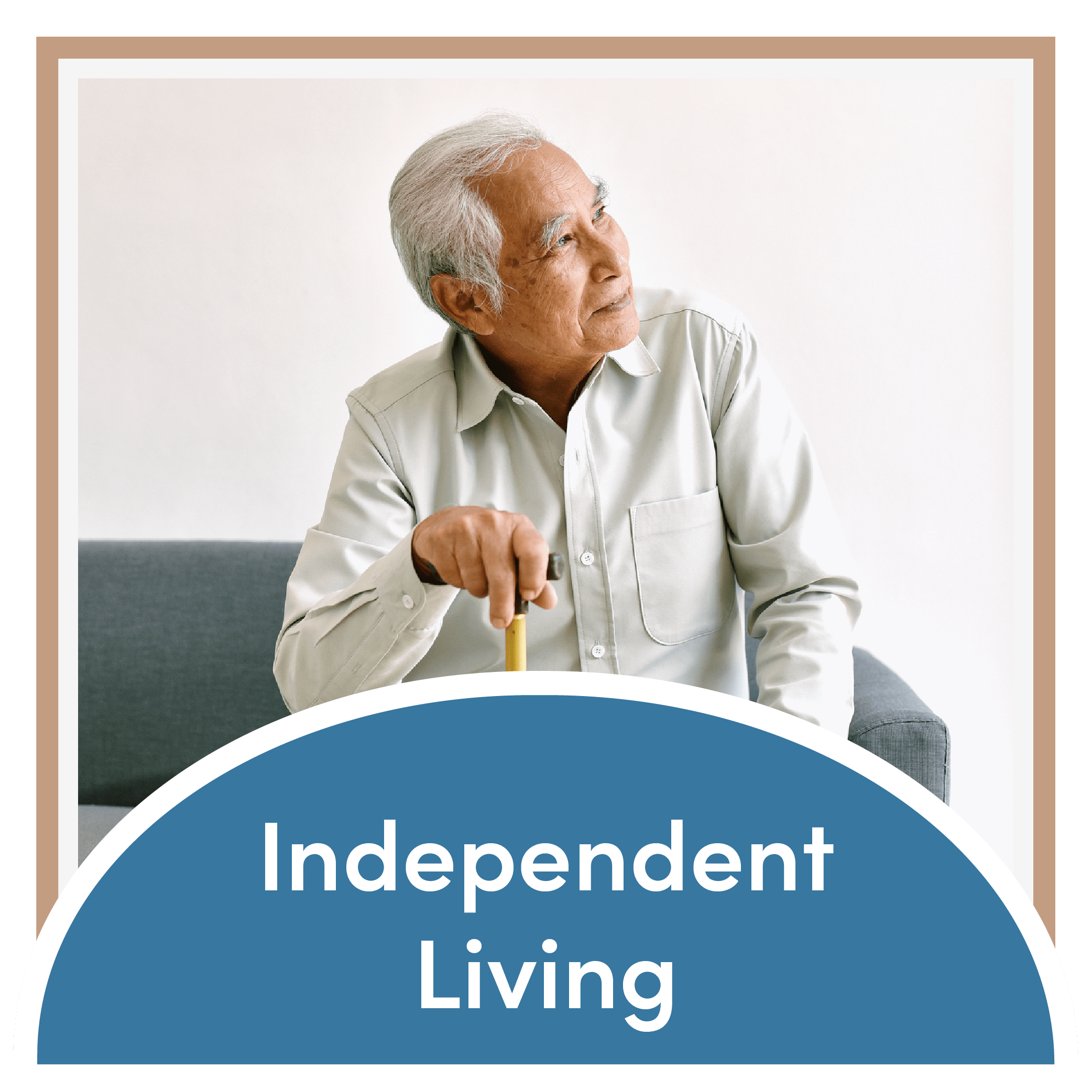 Link to the independent living page of Mountain View Retirement Village in Tucson, Arizona