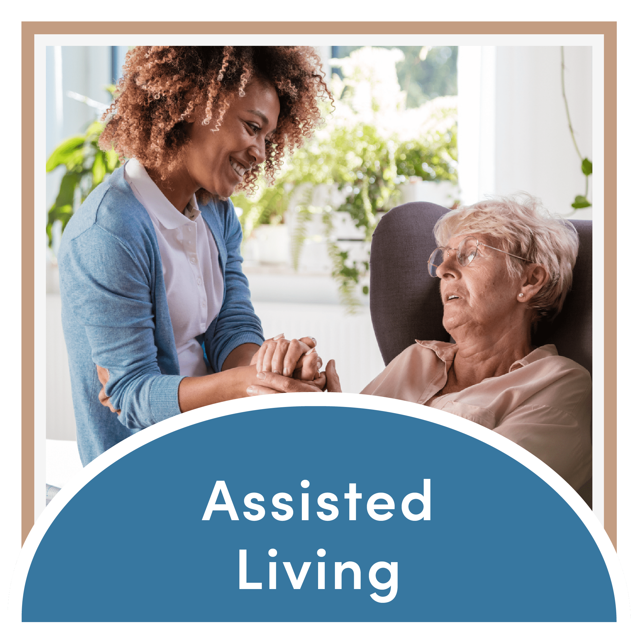 Link to the assisted living page of Mountain View Retirement Village in Tucson, Arizona