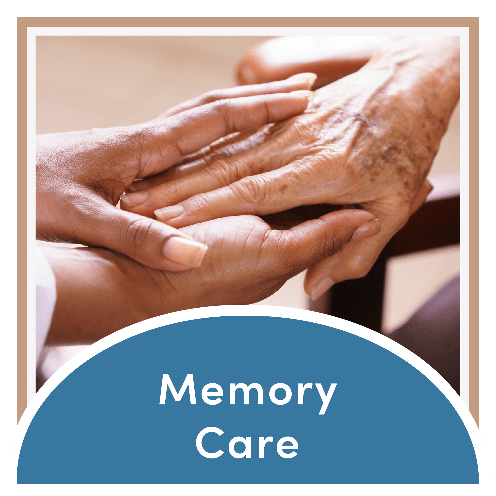 Link to the memory care page of Mountain View Retirement Village in Tucson, Arizona