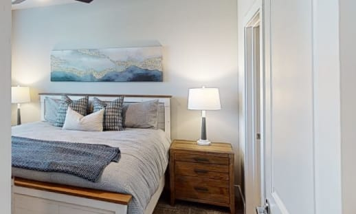 View virtual tour of a 1 bedroom 1 bathroom at Opal at Barker Cypress in Houston, Texas