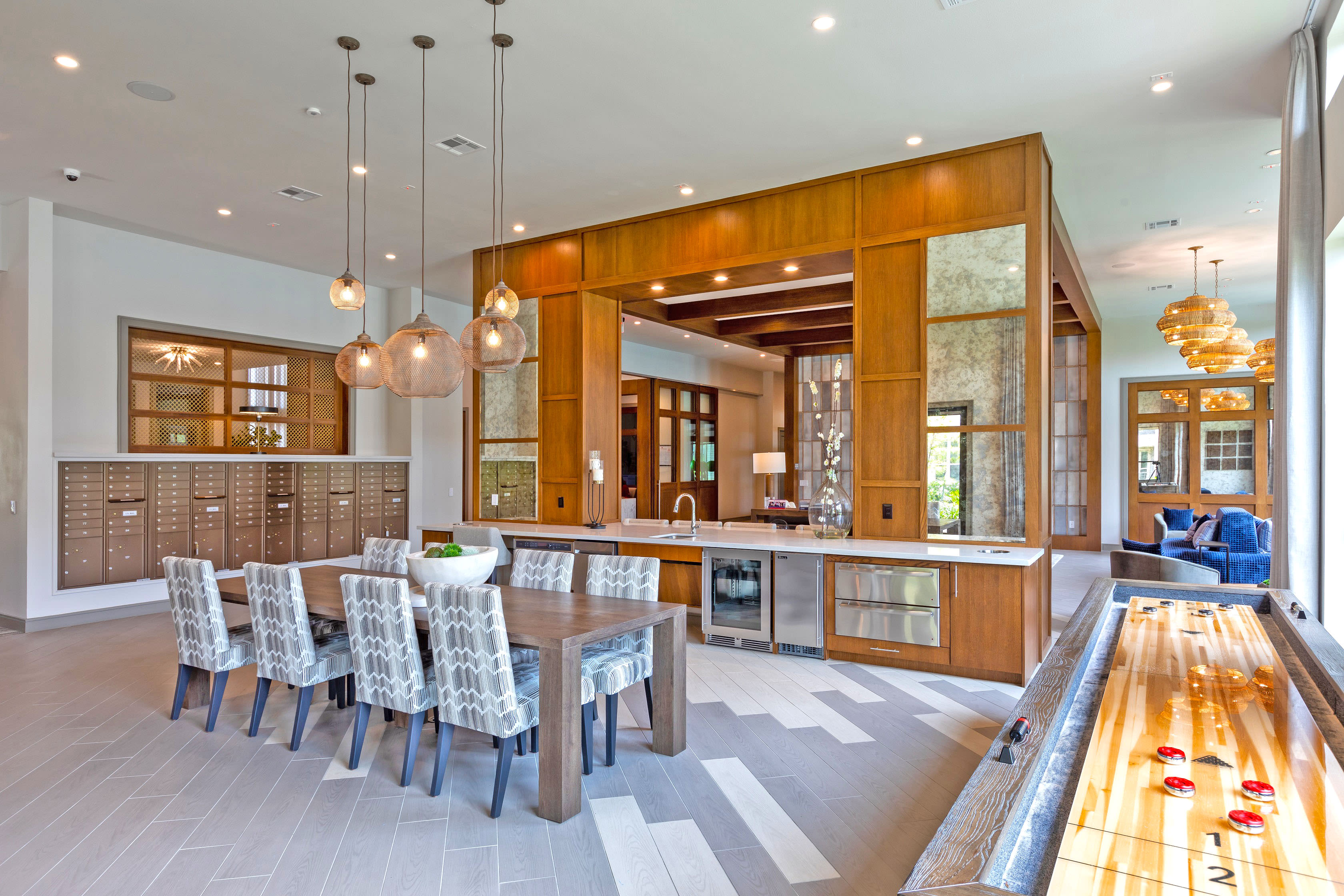View virtual tour of a clubhouse at Opal at Barker Cypress in Houston, Texas
