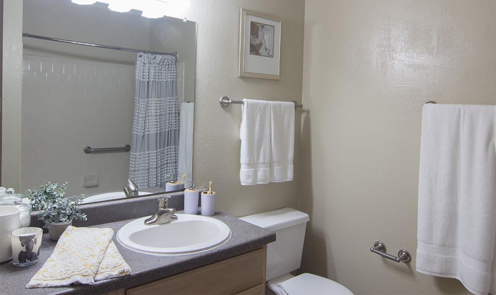 Bathroom at Club at North Hills in Pittsburgh, Pennsylvania