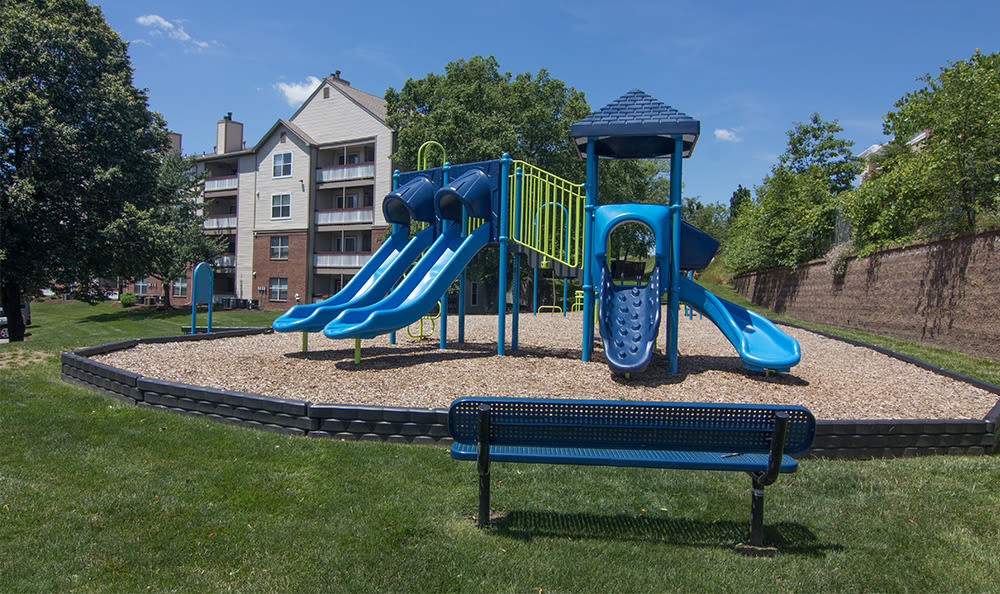 Playground at Club at North Hills in Pittsburgh, Pennsylvania