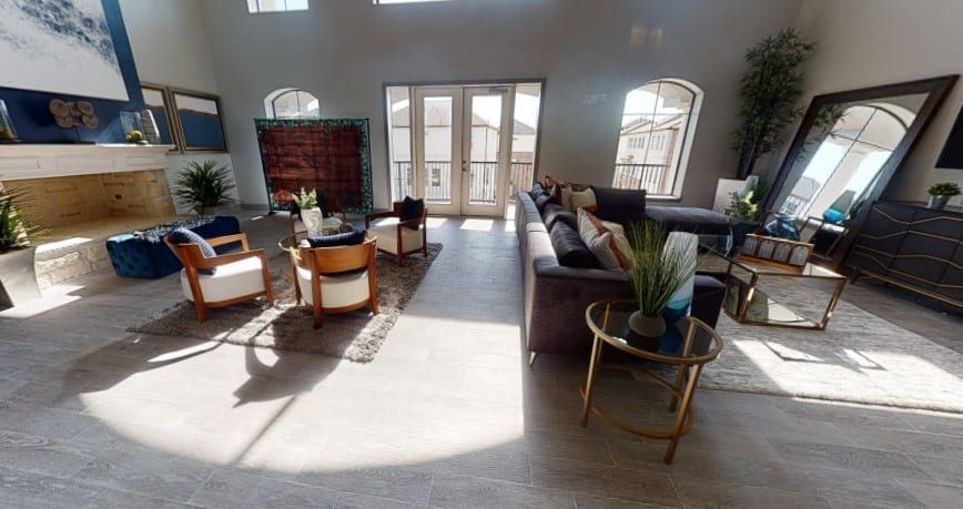 View virtual tour of the clubhouse at The JaXon in Kingwood, Texas