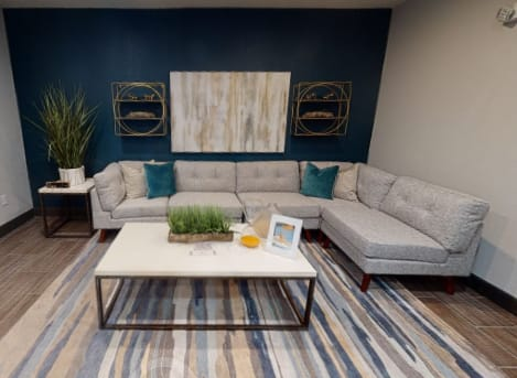 View virtual tour of the leasing office and cyber cafe at The JaXon in Kingwood, Texas