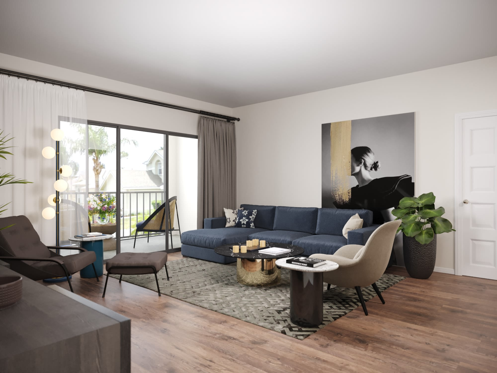 View virtual tour of a Two Bedroom apartment at Verse at Royal Palm Beach in Royal Palm Beach, Florida