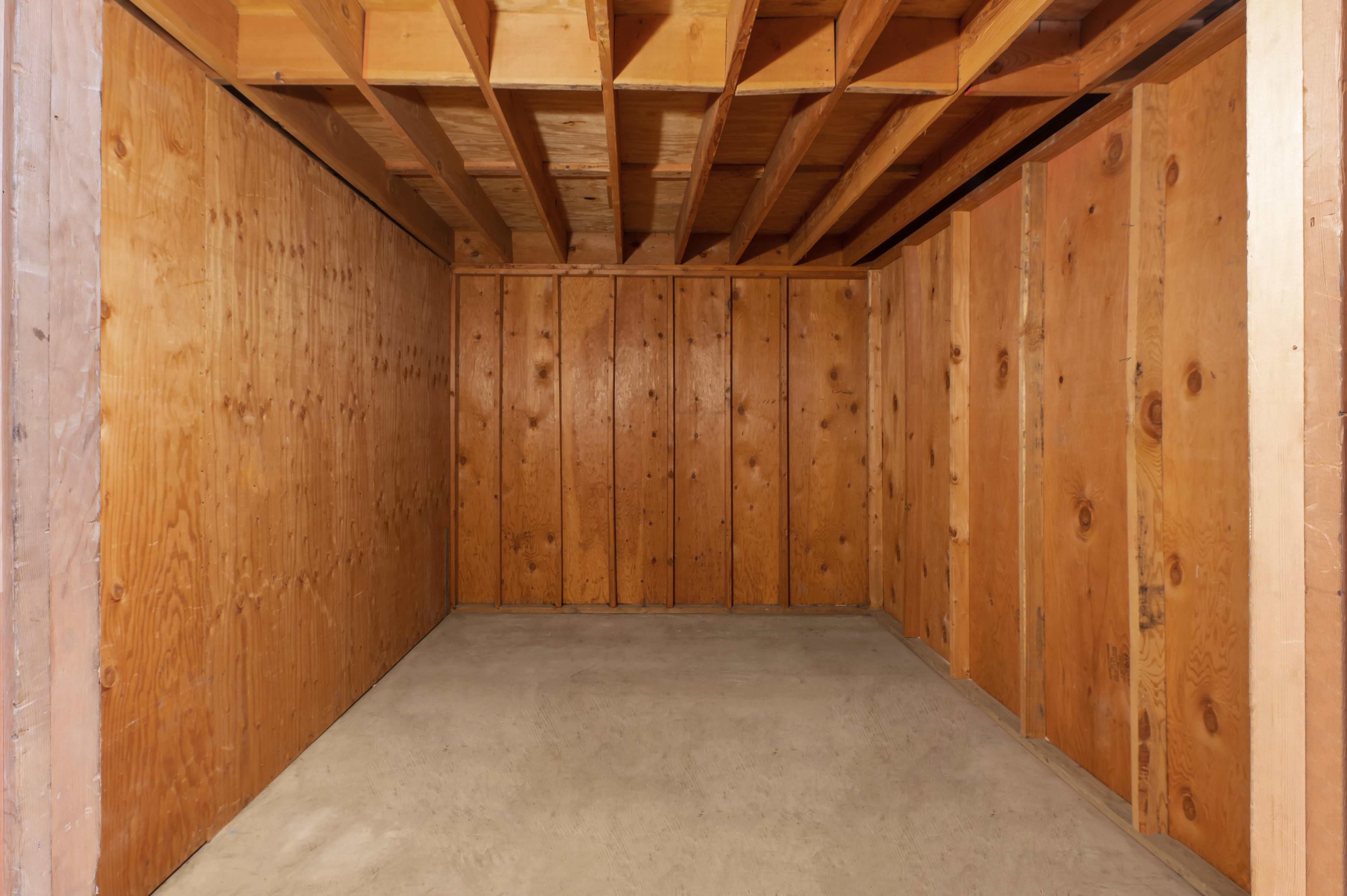 Interior of indoor Storage Unit at Huntington Park Self Storage