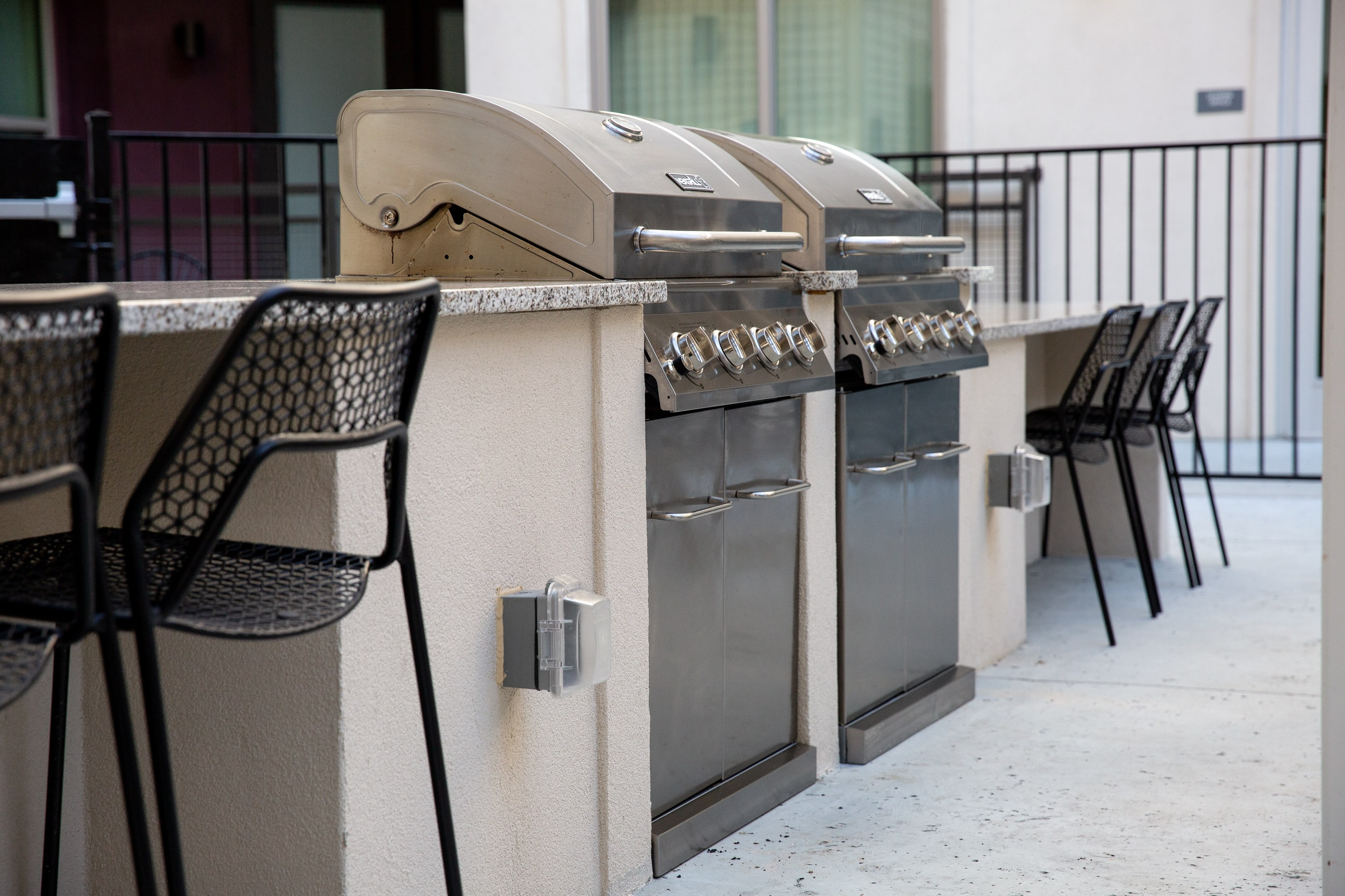 Barbecues at Flora in Austin, Texas