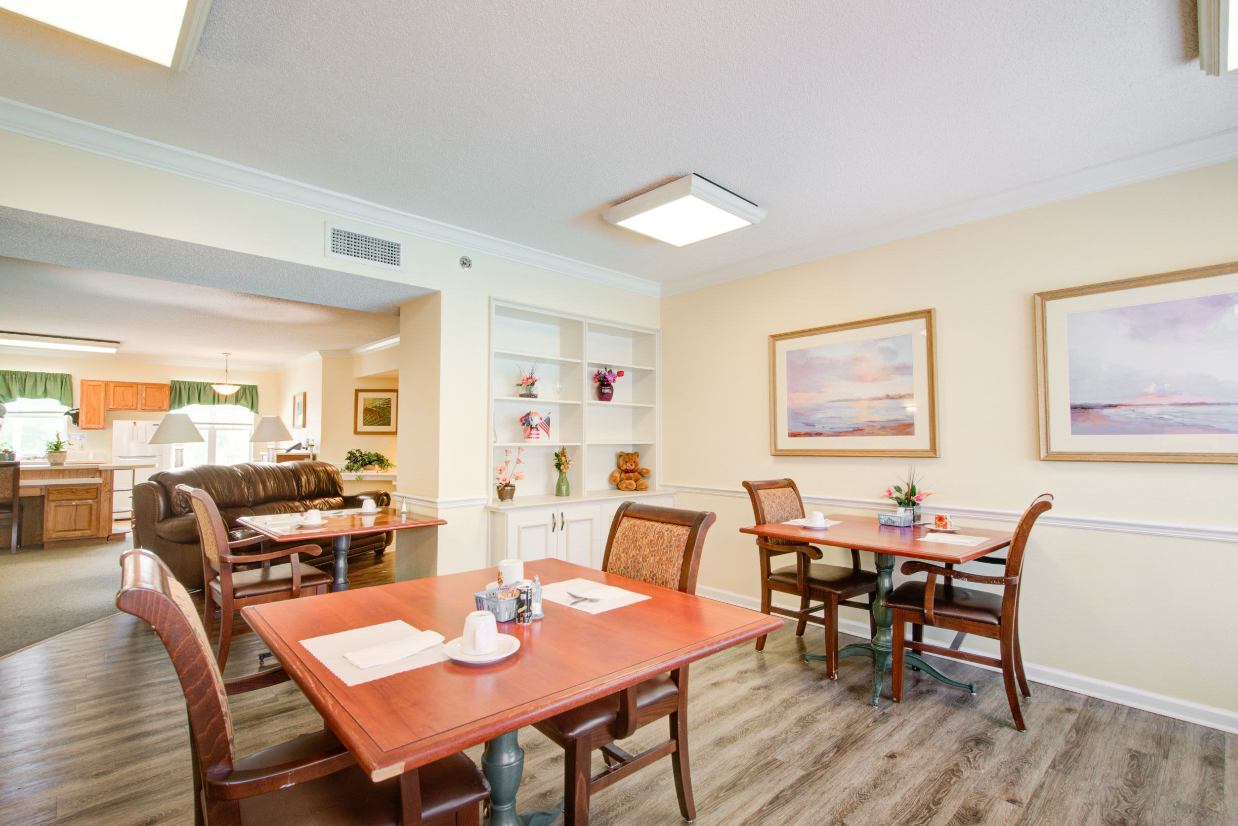 dining area at Truewood by Merrill, Venice in Venice, FL