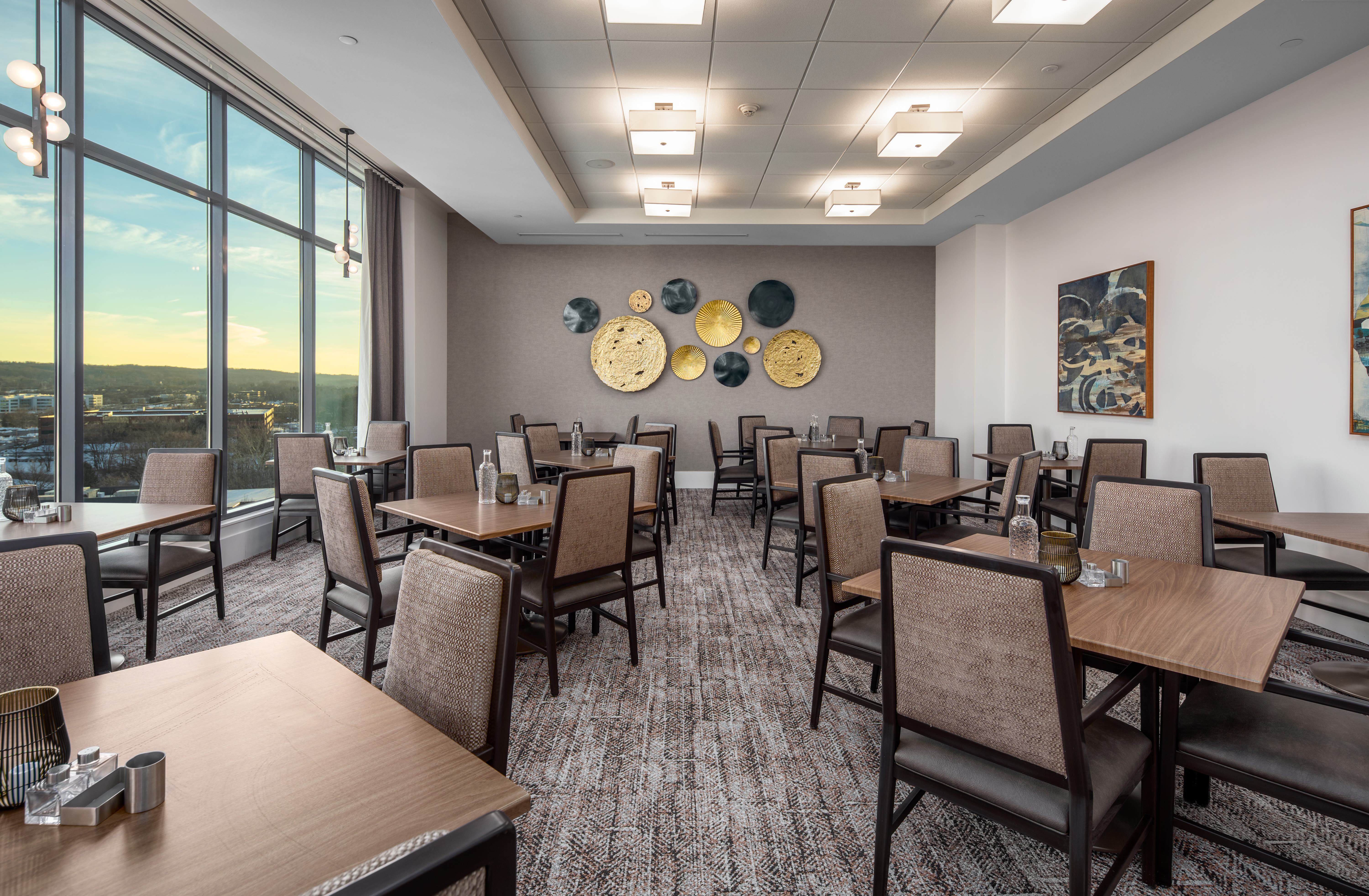 Dining area at Anthology of King of Prussia – Now Open in King of Prussia, Pennsylvania