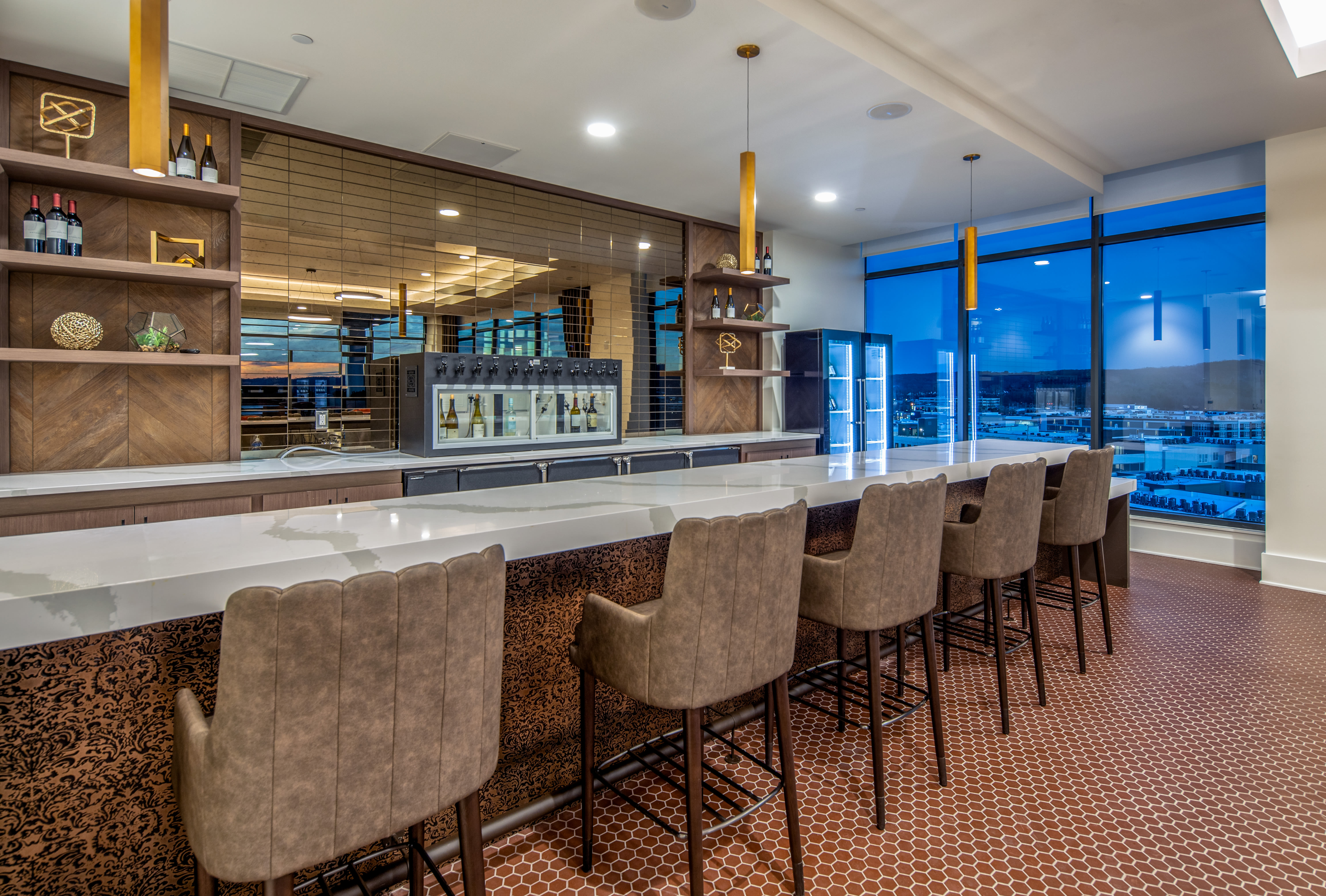 Bar at Anthology of King of Prussia – Now Open in King of Prussia, Pennsylvania