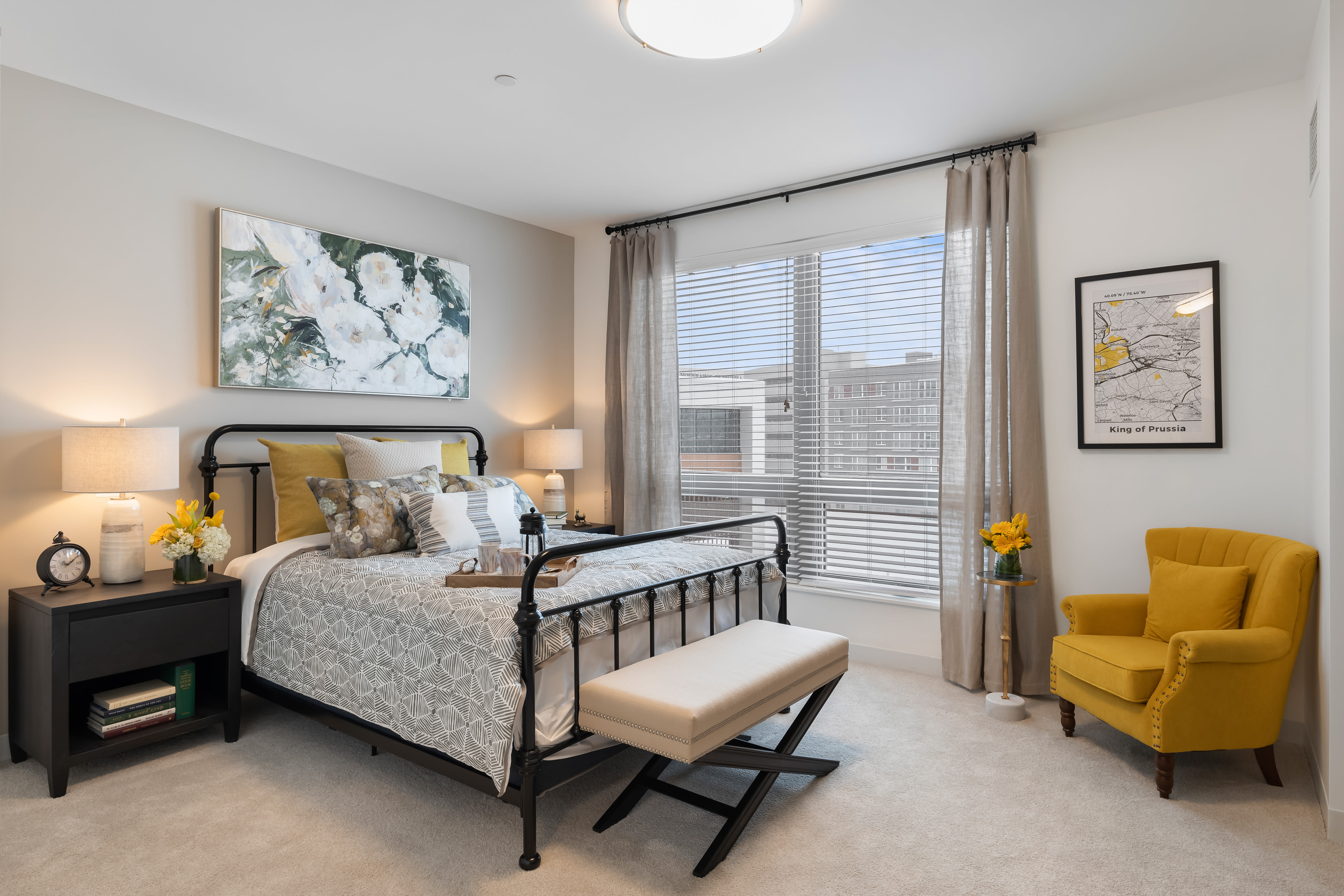 Bedroom at Anthology of King of Prussia – Now Open in King of Prussia, Pennsylvania