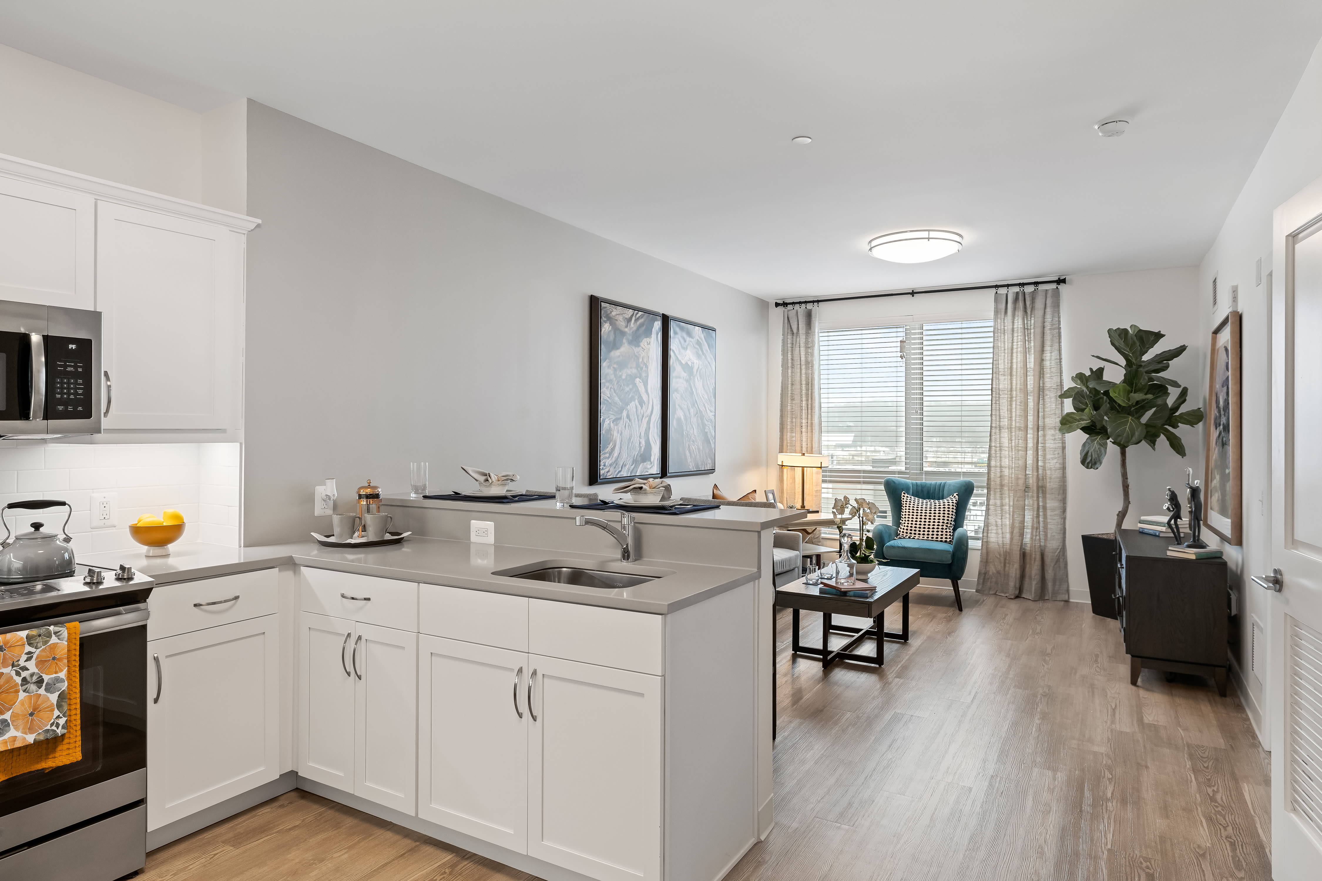 Open floorplan at Anthology of King of Prussia – Now Open in King of Prussia, Pennsylvania