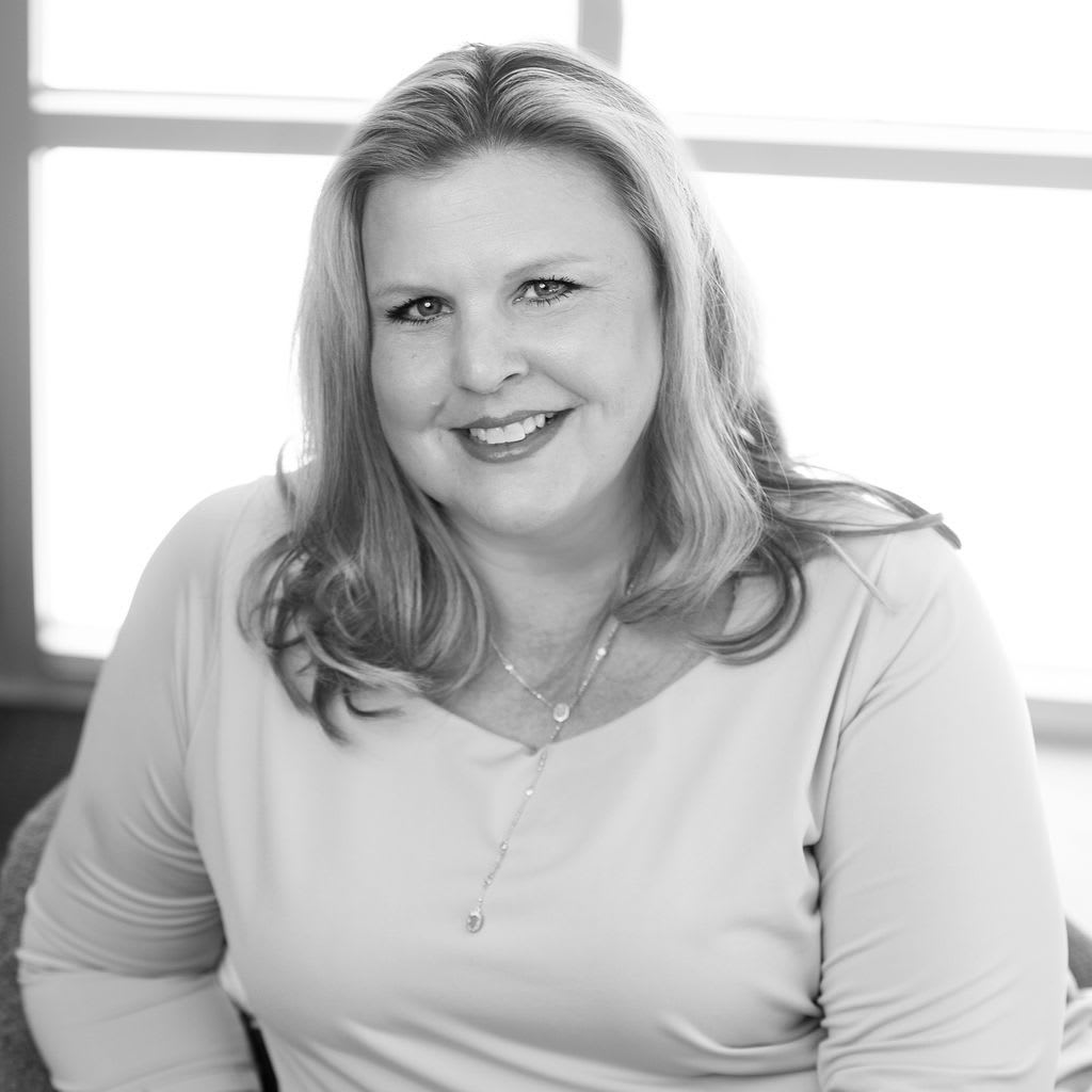 Team member Paige Russell at CREA Management in Austin, Texas