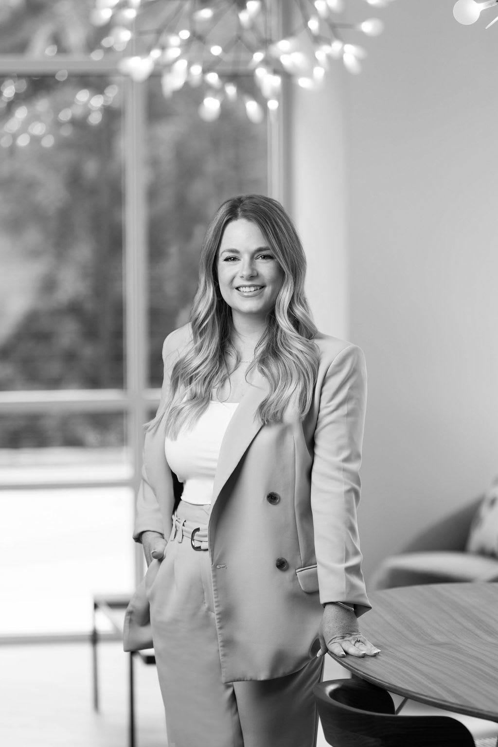 Team member Stephanie Pieper at CREA Management in Austin, Texas