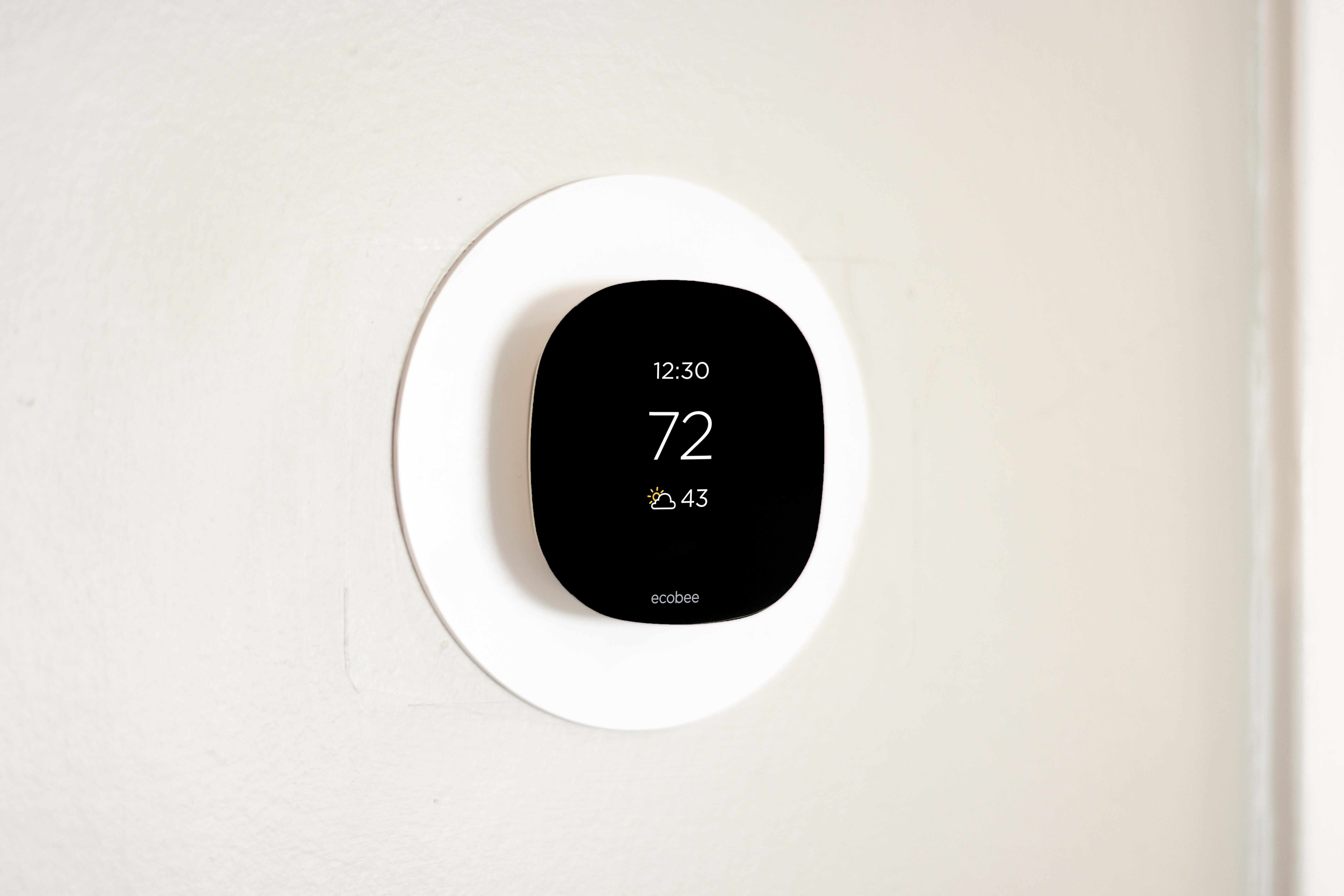 Nest thermostat at Regency Pointe in Forestville, Maryland