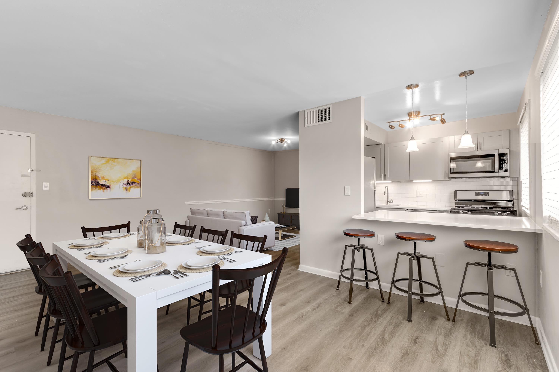 A dining room at Regency Pointe in Forestville, Maryland