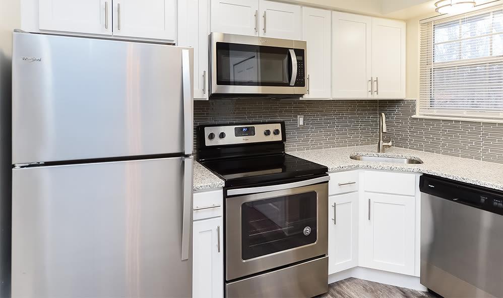 Kitchen at Raintree Island Apartments in Tonawanda, New York