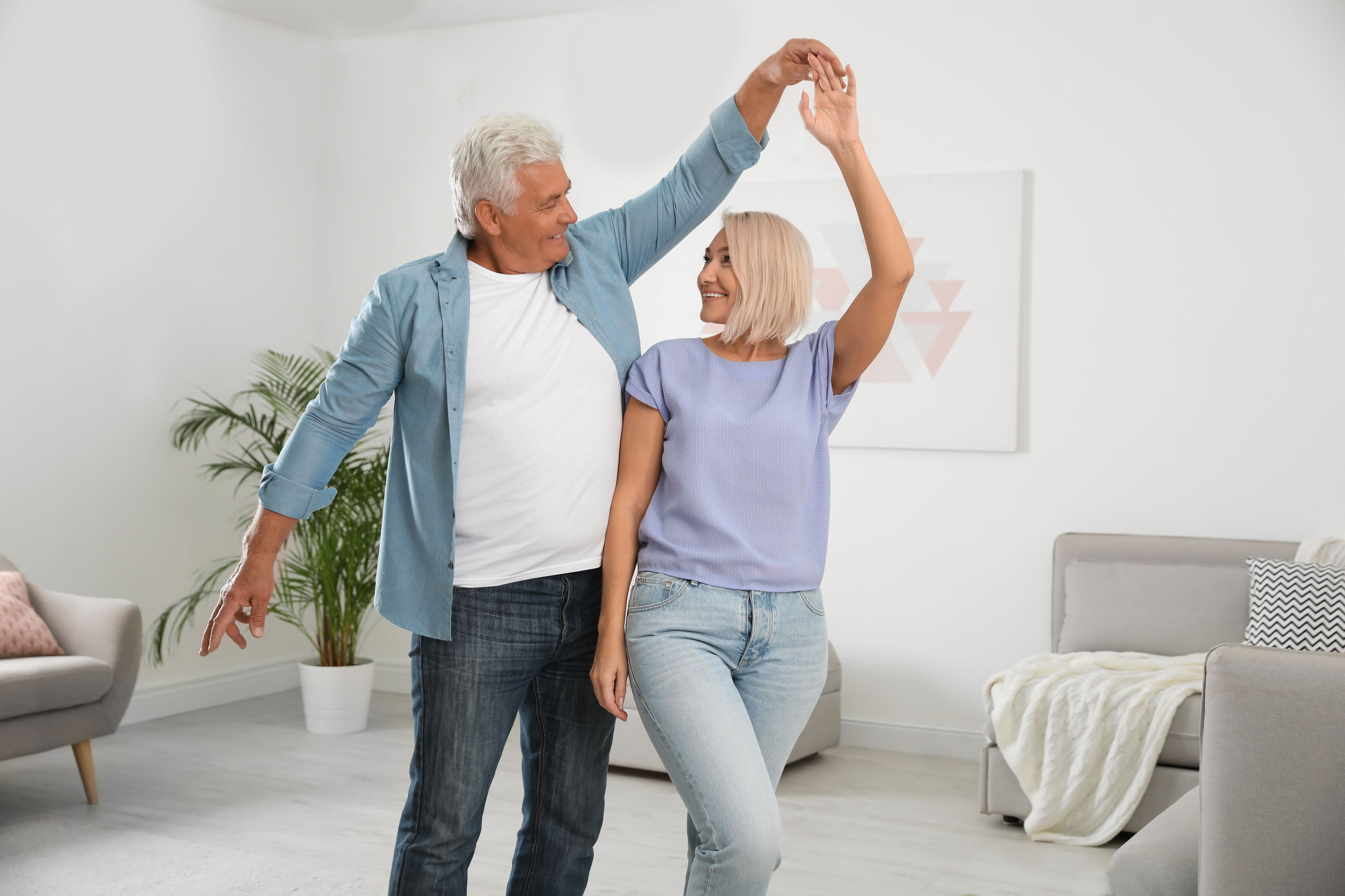 Residents dancing at Waterford Harbour in Groveport, Ohio