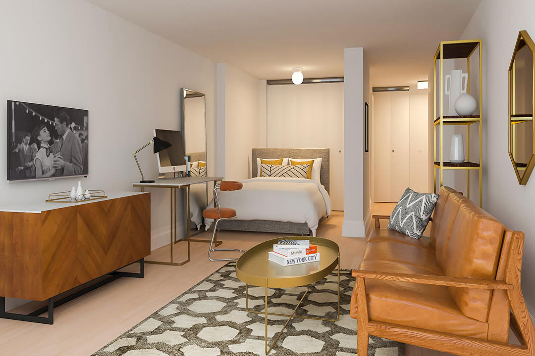 Classic style studio bedroom at The Ventura in New York, New York