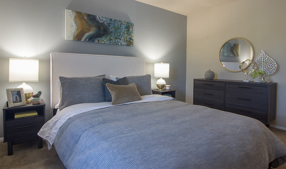 Bedroom at Park Place of South Park in South Park, Pennsylvania