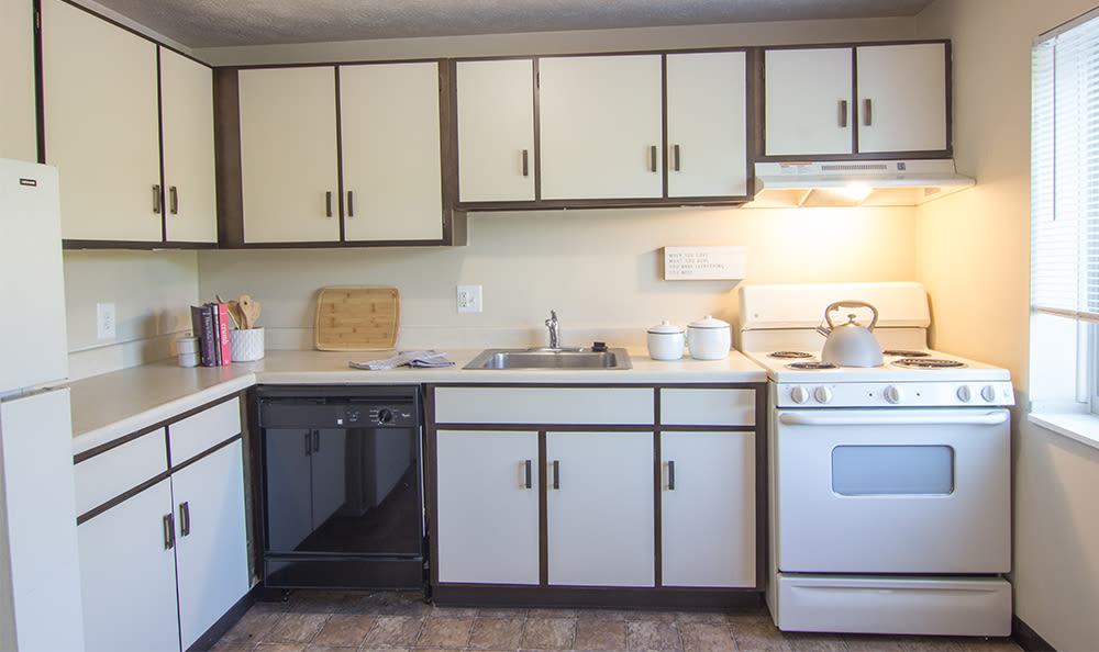 Spacious kitchen at Park Place of South Park in South Park, Pennsylvania
