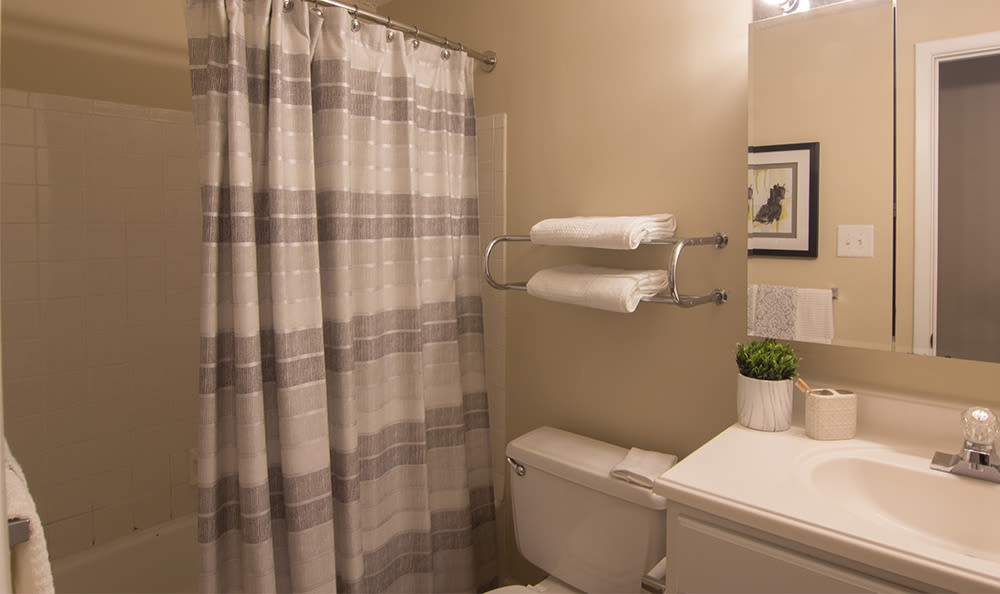 Bathroom at Park Place of South Park in South Park, Pennsylvania