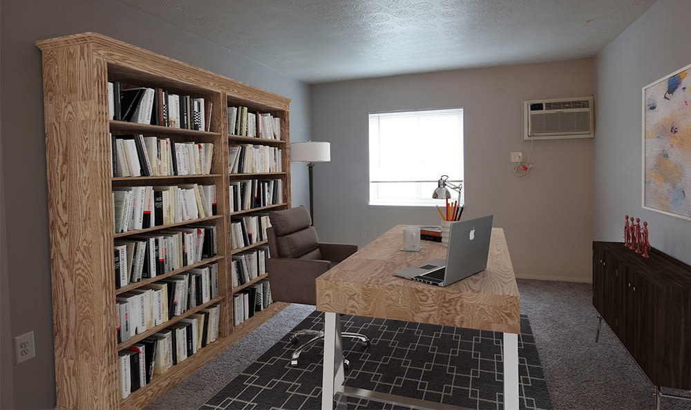 Room for home office at Park Place of South Park in South Park, Pennsylvania