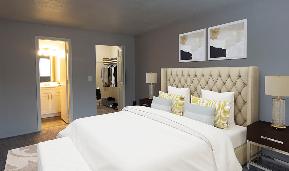 Spacious bedroom at Park Place of South Park in South Park, Pennsylvania