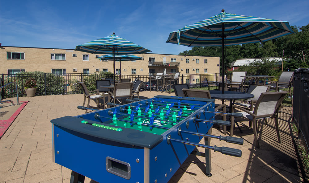 Outdoor games at Park Place of South Park in South Park, Pennsylvania