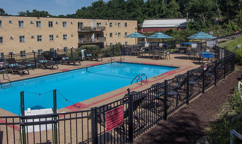 Swimming pool at Park Place of South Park in South Park, Pennsylvania