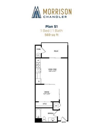 S1 2D floor plan image