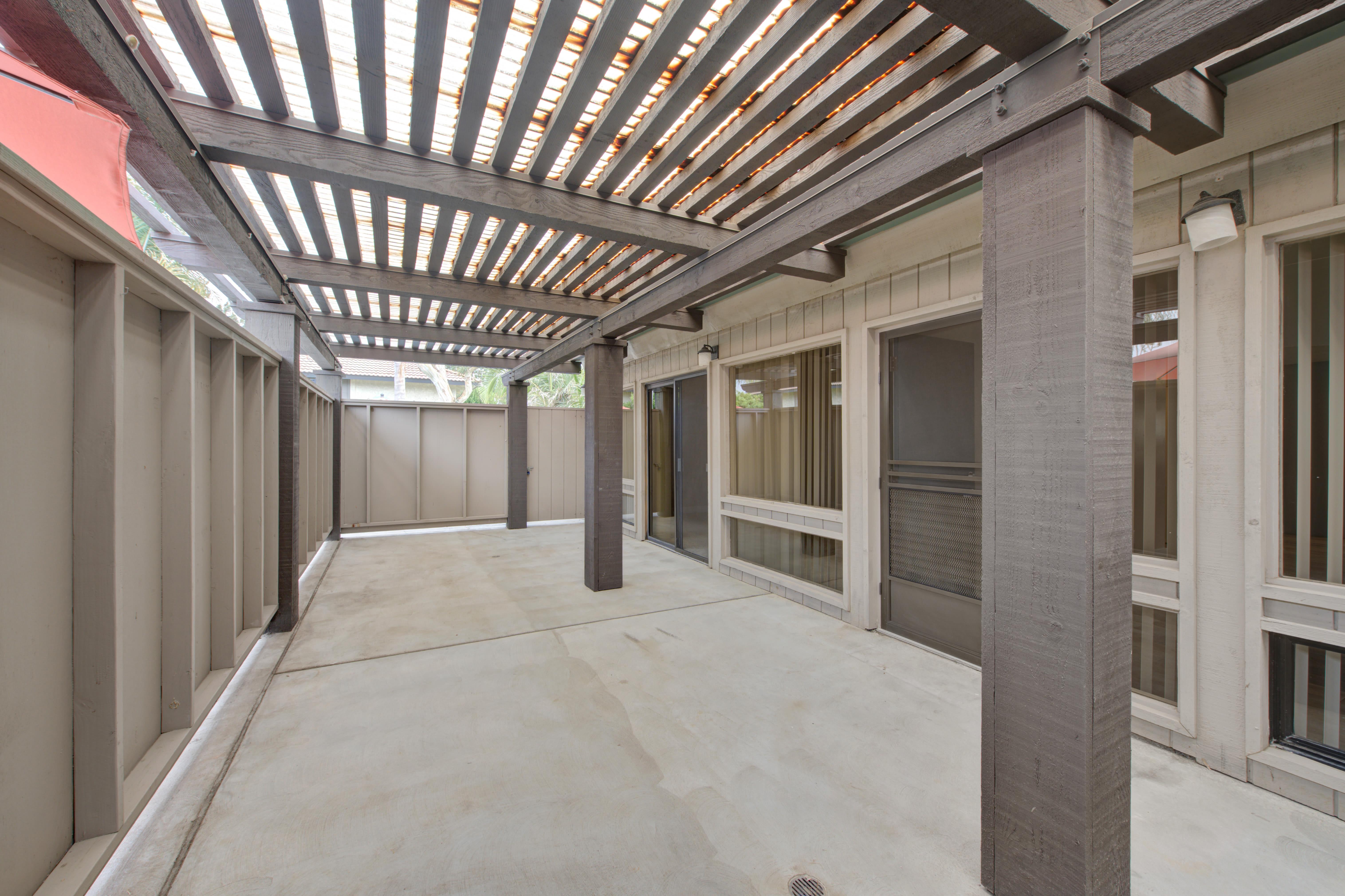 Apartments with private outdoor patios at Sofi Ventura in Ventura, California