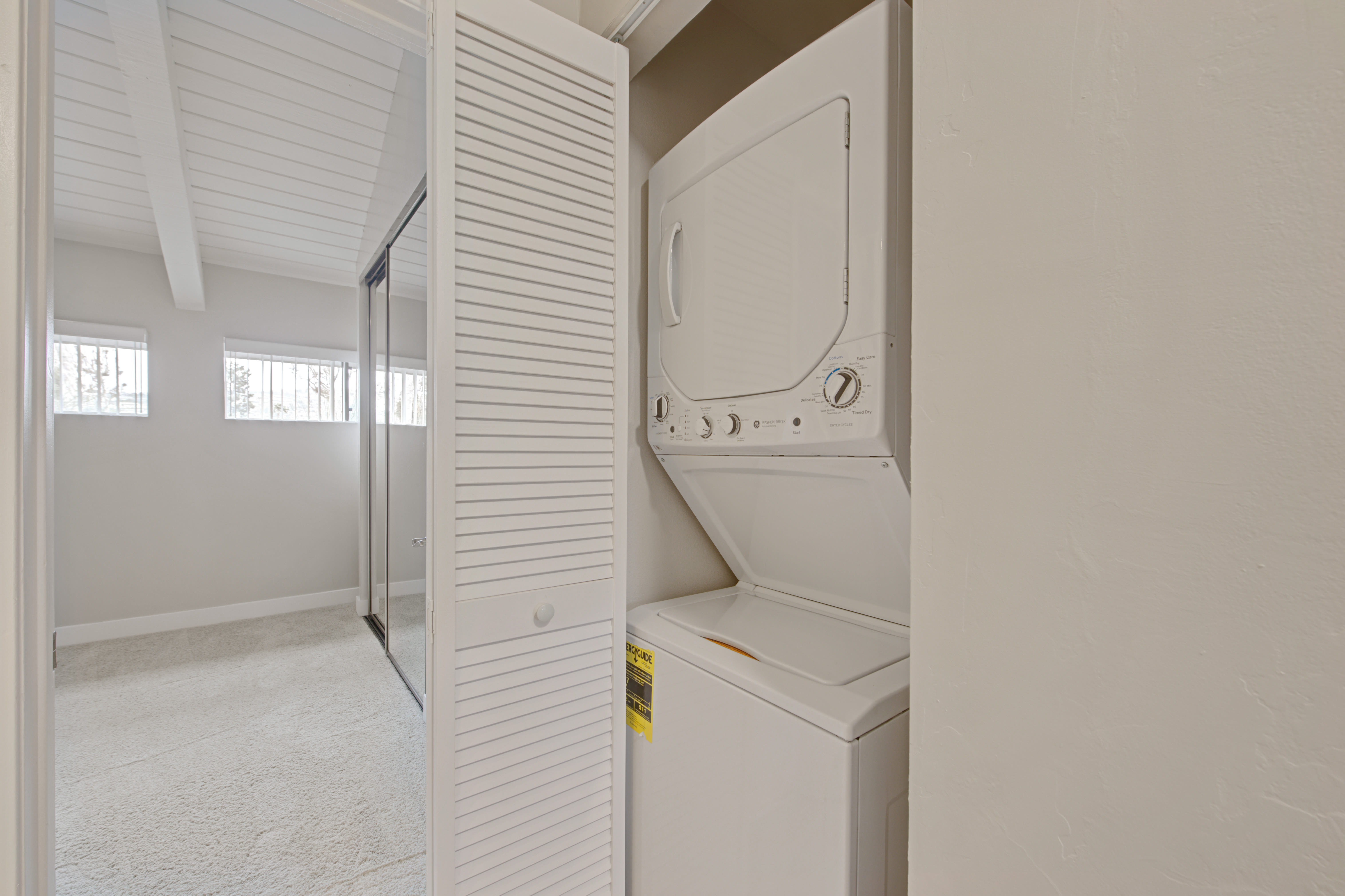 Washer & dryers included in apartments at Sofi Ventura