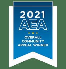 AEA Overall Community Appeal Award Winner 2021