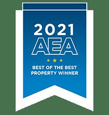 AEA Best of the Best Award Winner 2021