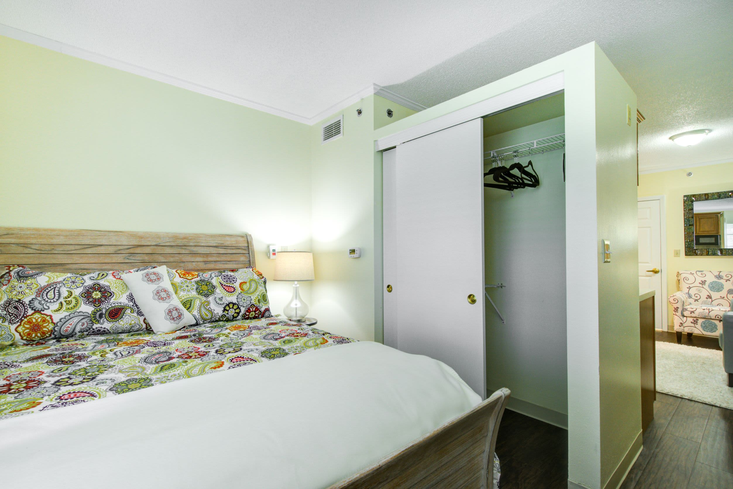 Bedroom at Truewood by Merrill, Charlotte Center in Port Charlotte, Florida