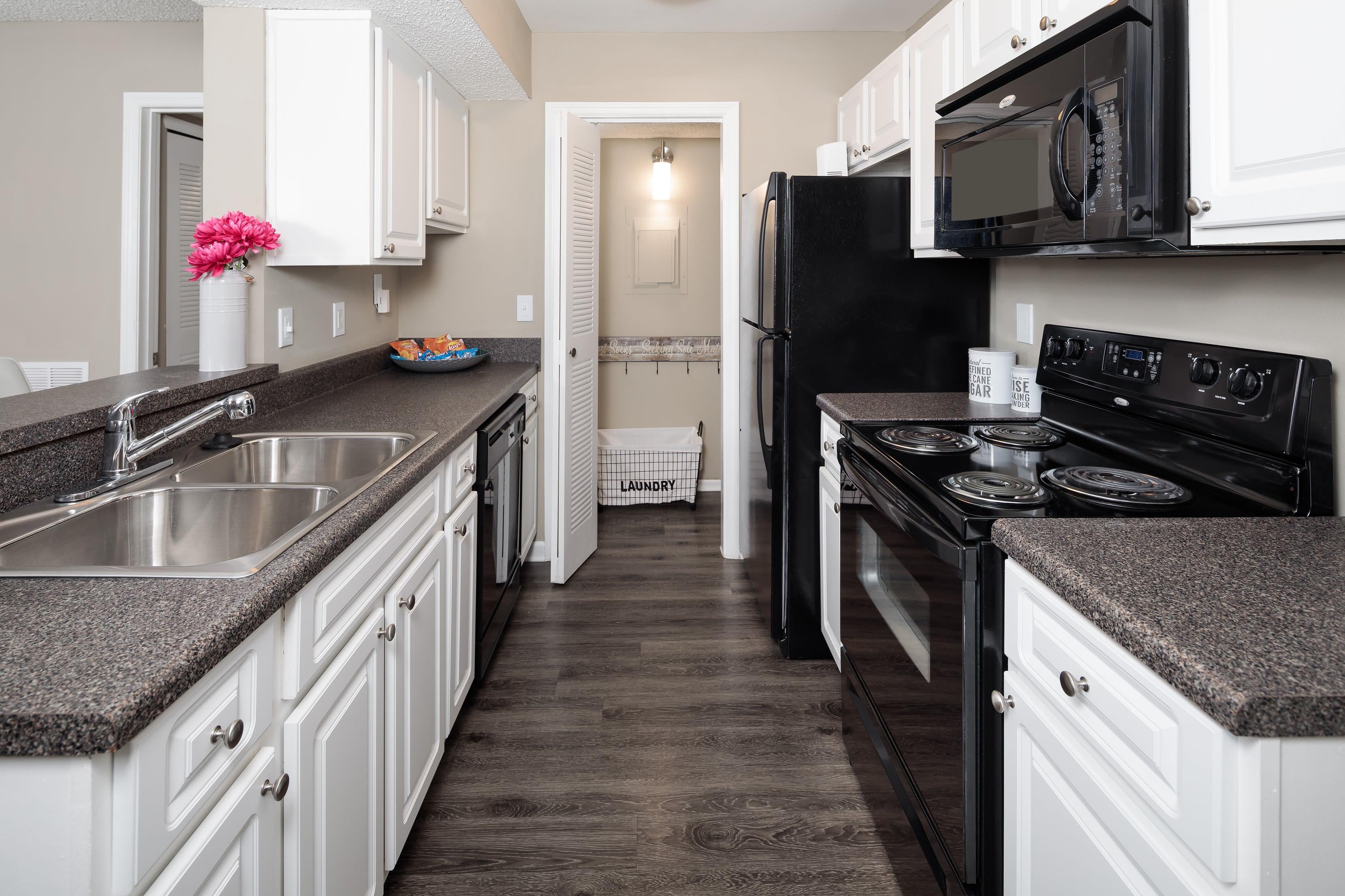 Beautiful kitchen at 1801 MetroWest in Orlando, Florida