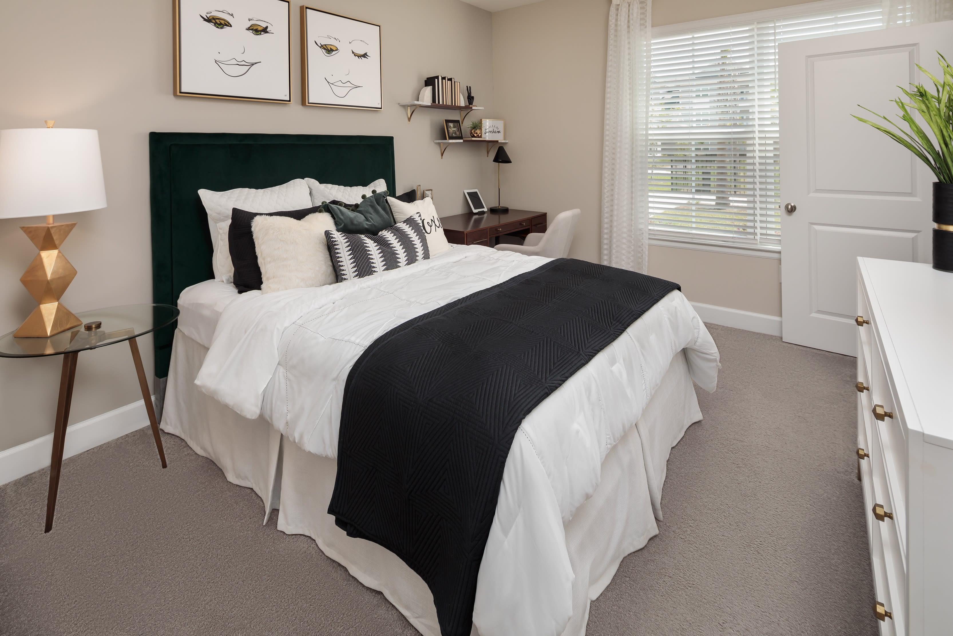 Large main bedroom at The Isaac in Summerville, South Carolina