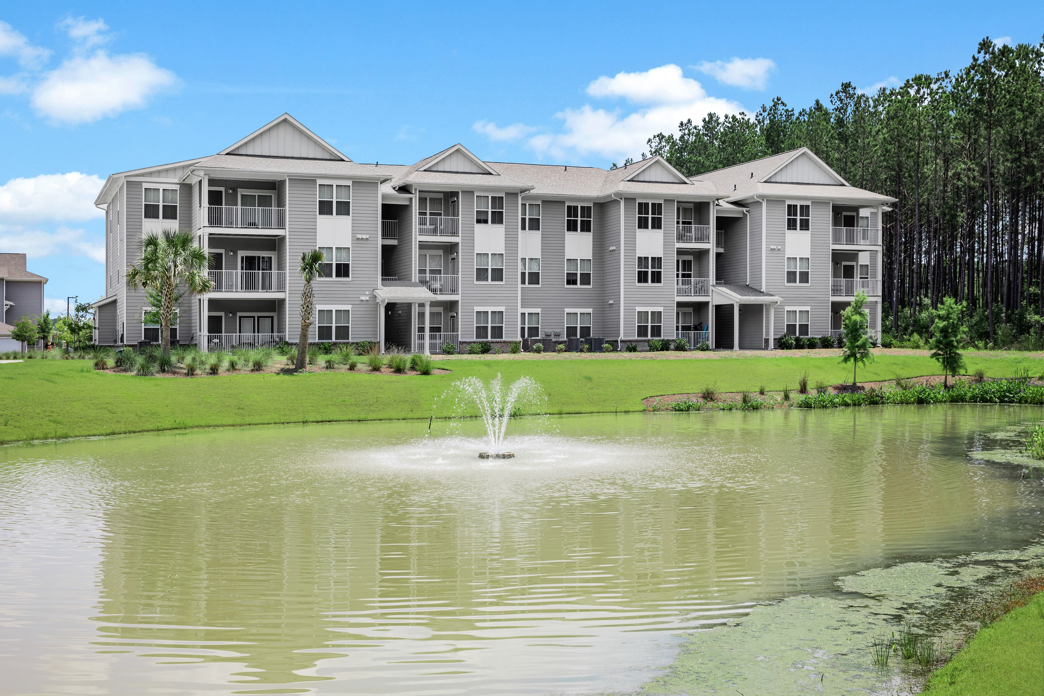 A lakeview at The Isaac in Summerville, South Carolina