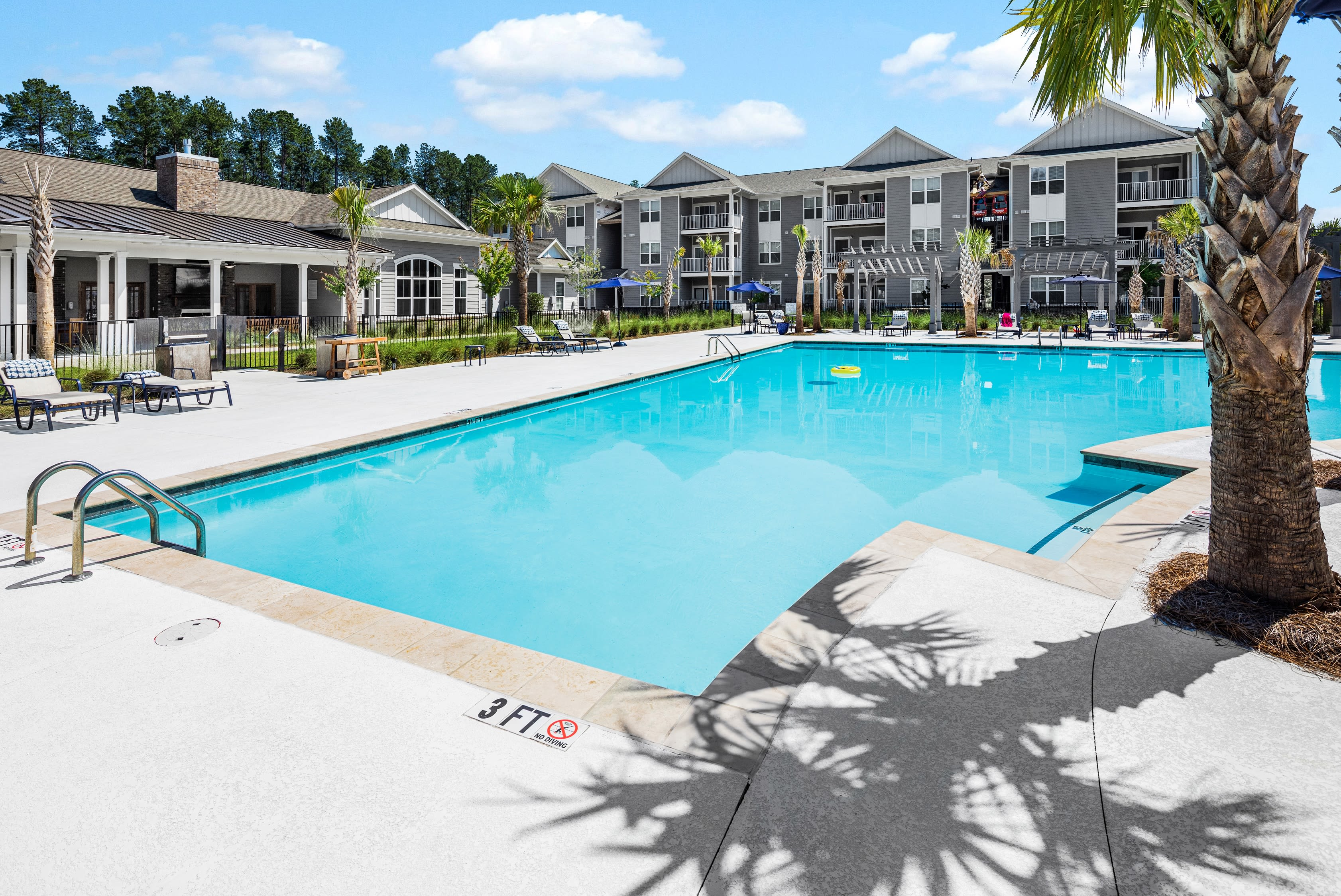 Apartments with pool at The Isaac in Summerville, South Carolina