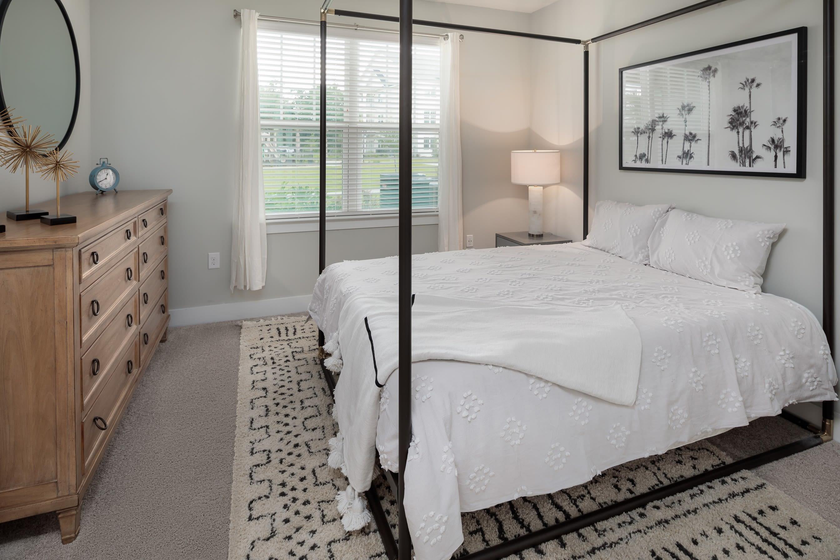 master bedroom at The Mason in Ladson, South Carolina