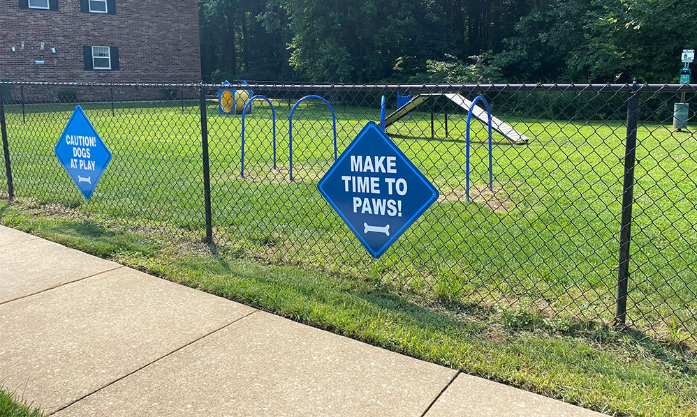 Our Apartments in Marlton, New Jersey offer a dog park