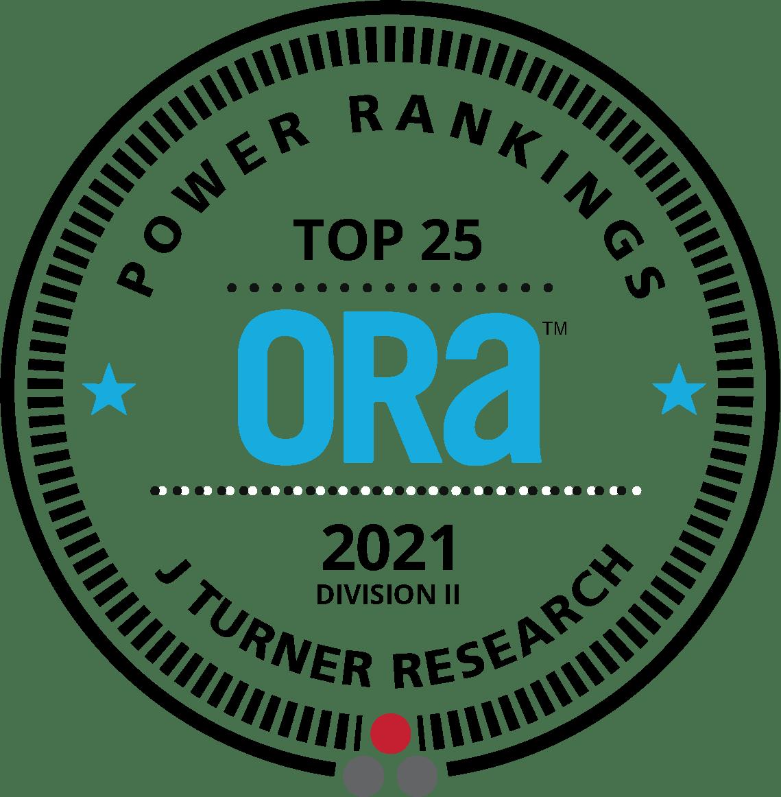 ORA Top 25 logo