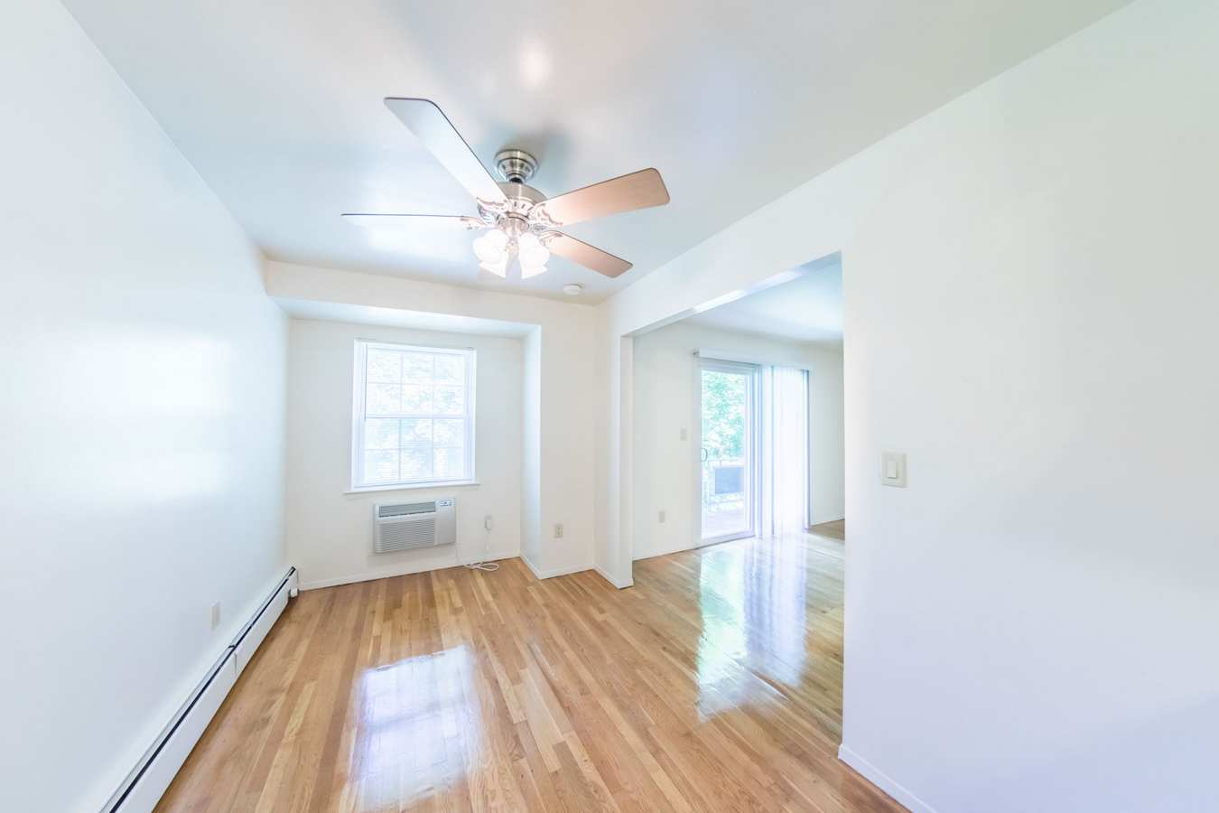 Spacious apartment with wood floors at The Manors in Pomona, New York
