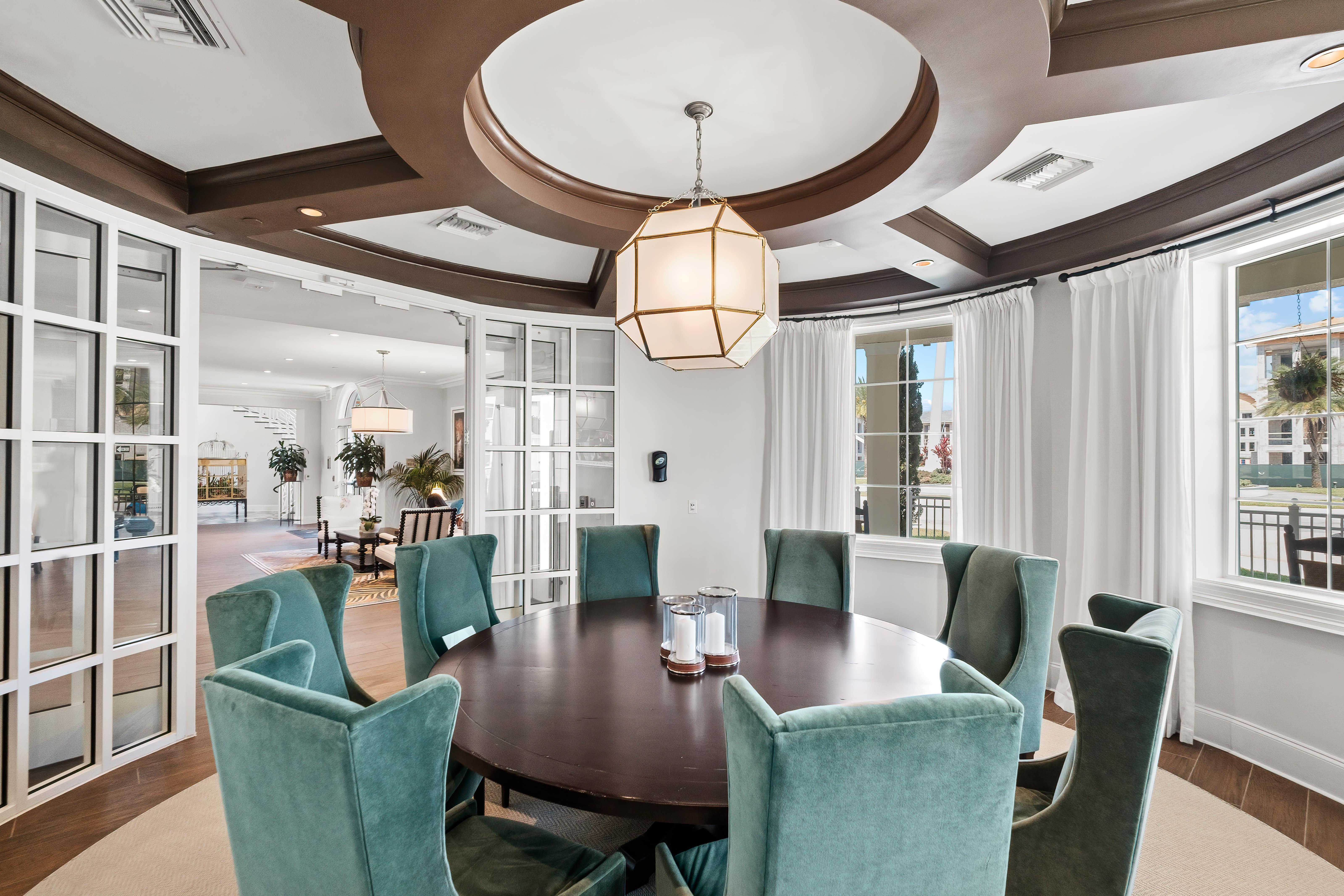 Conference room at Town Lantana in Lantana, Florida